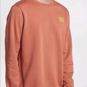 Nike Sportswear Fleece Patch Crew Sweatshirt Sz L